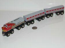 BRIO Santa Fe Engine & Passenger Cars 33423 Trains World Thomas Wooden Railway