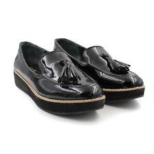 233631d3426 Bar III Women s Danton Platform Tassel Loafers Store Return (Black