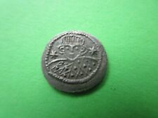 Byzantine Justinian Ii, first reign 685 – 695 Ad. Silver Half Siliqua .Sardinia