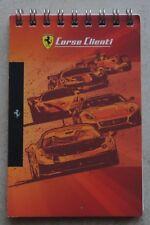 Ferrari Corse Clienti Challenge 2012 Noteblock Notiz FXX Brochure Prospekt
