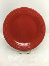 "DINNER PLATE scarlet HOMER LAUGHLIN FIESTA WARE 10.5"" NEW"