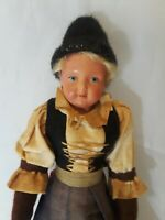 "European Souvenir Doll  10"" Tall"