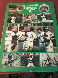 1973 New York Mets Program Tom Seaver Rusty Staub Jerry Koosman