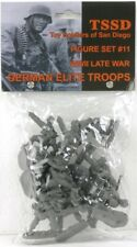Toy Soldiers Of San Diego Set 11 WW2 World War II Late War German Elite Troops