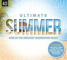 SUMMERTIME GREATEST HITS MUSIC NEW 4CD SET 70's,80's,90's ETC. PARTY, BBQ MUSIC
