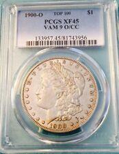 1900 O/CC Vam 9 PCGS XF 45 Morgan Silver Dollar Top 100 VAM RARE R7
