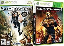 shadowrun  & gears of war judgment   Xbox 360  PAL NEW&SEALED