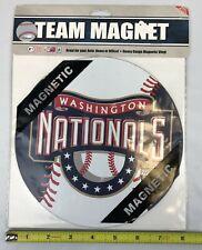 """WASHINGTON NATIONALS MLB LICENSED 8"""" BASEBALL MAGNET FREE SHIP *CLOSEOUT*"""