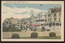 Postcard ASBURY PARK New Jersey/NJ  2nd Second Ave Tourist Homes/Hotels 1910's