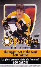 OPC O-Pee-Chee 2010-11 Complete Base Set 1-500
