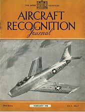 AIRCRAFT RECOGNITION JOURNAL FEB 48: SAAB SCANDIA/ BOEING STRATOJET/REPUBLIC P48
