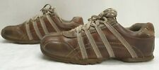 SKECHERS mens leather lace up trainers shoes Size 6 EU 39.5