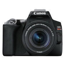 Canon Eos Rebel Sl3 24.2Mp 4K Digital Slr Camera with 18-55mm Lens