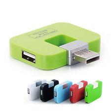 4 Port USB line splitter Extension Splitter for Desktop Laptop TV Charger H383