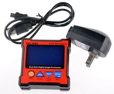 Professional DXL360S Dual Axis Digital Protractor Inclinometer Level Box 0.01°