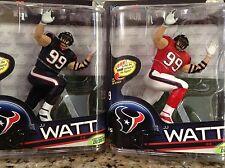 NFL HOUSTON TEXANS J.J. WATT / McFARLANES SPORTSPICKS SERIES 33 / REG. & VARIANT