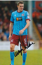 SCUNTHORPE UNITED HAND SIGNED MURRAY WALLACE 6X4 PHOTO 2.