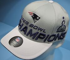 New England Patriots Hat Super Bowl XLIX Champions NFL Team Apparel NEW