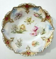 """RS Prussia Centerpiece Bowl Flowers 10.75"""""""