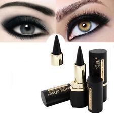 Lápiz de ojos waterproof gel BARRA LARGA DURADERO Maquillaje Belleza Tool Charm