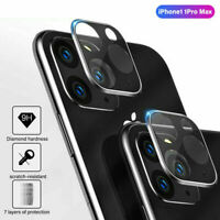Camera Lens Protector Case For iPhone 11 Pro Max Tempered Glass Full Coverage