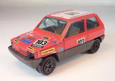 Bburago 1/43 Fiat Panda 45 Limousine Rallye rot Nr.103 defekt #1761