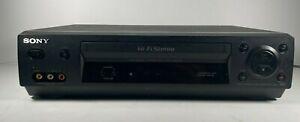 Sony VCR SLV-N500 Hi-Fi Stereo Video Cassette Player-Recorder NO Remote