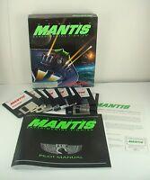 "XF5700 Mantis Experimental Fighter 1992 IBM PC 3.5 "" Disk Game Big Box Ed Aliens"