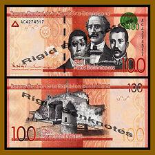 Dominican Republic 100 Pesos Dominicanos, 2014 P-New Unc