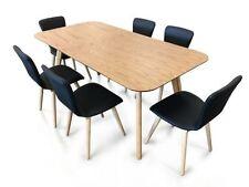 Scandinavian Wooden Dining Furniture Sets