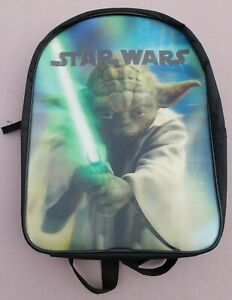 Star Wars Kids Backpack - Holographic Front - Yoda