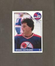 New listing 1985-86 OPC Brian Hayward ROOKIE RC JETS O Pee Chee NM++ Hockey Cards