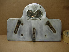 1917 - 32 AMERICAN PLATE LITE LICENSE PLATE FRAME LIGHT 1932 FORD CADILLAC BUICK