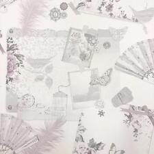 Arthouse Ava Papillon Plume Photo Collage Motif Papier Peint ParisMotif 693000