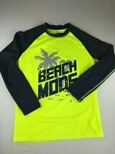"Lace Sport Brand ""Beach Mode"" Rash Guard Shirt Long Sleeve Girls Boys Kids Youth"