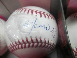 Alfonso Soriano Chicago Cubs Signed MLB Baseball COA