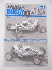 Tamiya Original vintage Fighter Buggy RX Instruction Manual - 58184