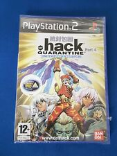 Ps2 Dot hack(.hack)Part 4 Quarantine The Final Chapter New & Sealed Please Read