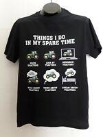Mens t-shirt size Medium short sleeves brand Fruit of the loom new black
