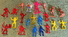 Vintage Lot of 21 Plastic Indians Native American Toy Figures