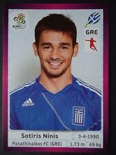 PANINI 99 Sotiris Ninis Grecia euro 2012 Poland-Ucraina