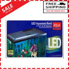 10 gal Fish Tank Hood, 15x Less Energy Led Light, Freshwater & Saltwater Tanks