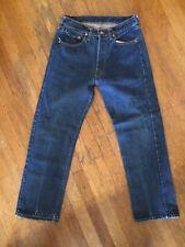Vtg Rare Levis Big E Single Stitch Non Redline 501s Jeans Usa 28 26 #2