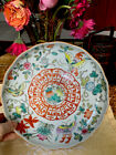 Antique Chinese Set Of 2 Plates , signed
