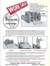 Equipment Brochure - Stockland - Work Saver - Hydro Loader - c1950's (E3587)