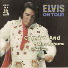 Elvis Presley CAMERA AND MICROPHONE Rehearsals - New Original Mint CD Rising Sun