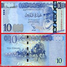 LIBIA LIBYA 10 Dinars dinares 2015 2016 Pick NEW   SC  /  UNC