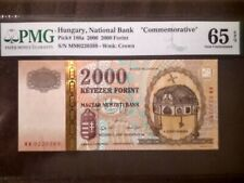 2000, Hungary, 2000 Forint, Commemorative, 65 PMG, Unc.