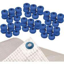Oeillet autoperforant X 100 pour toute bache et toile diametre 25 mm