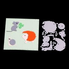 Three Dinosaur  Metal Embossing Cutting Dies Stencils Scrapbook Photo Craft XJ